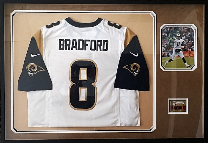 FRAMECO San Diego custom framed sports jerseys for residential, sports collectors