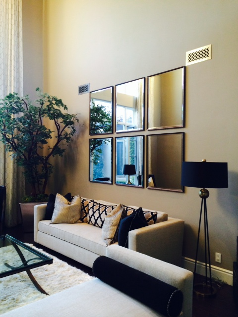 Frameco Living Room Framed Mirrors