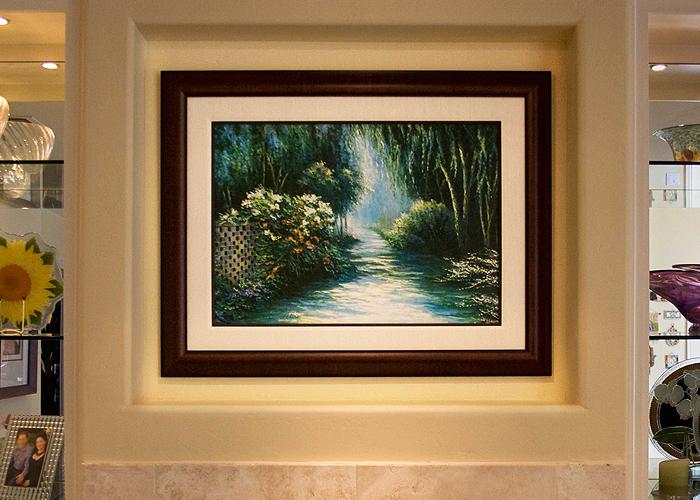 Frameco Framed Painting Living Room Frameco