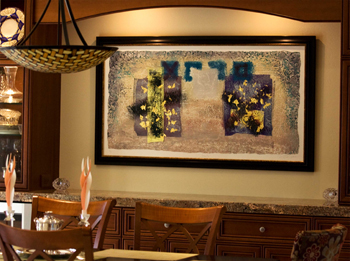 Residential Living Room Framed Art