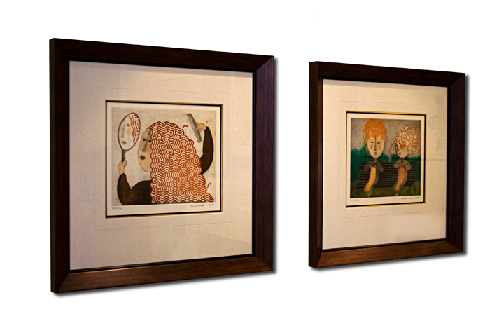 FRAMECO Hallway Paired Prints | Custom Picture Framing ...