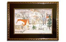 Framed Winter Print